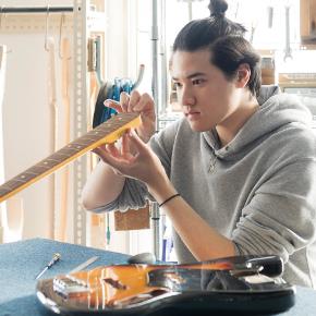 ギター製作総合コース<br> ギターリペア専攻