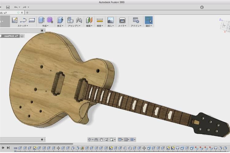 オリジナルギター製作