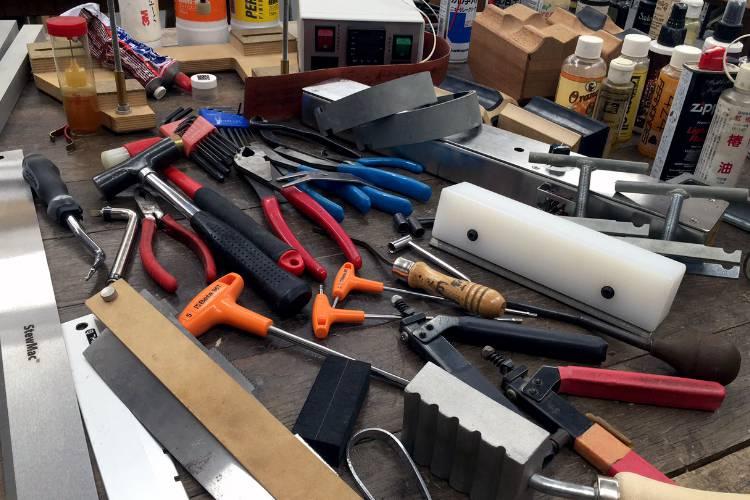 プロ仕様の工具