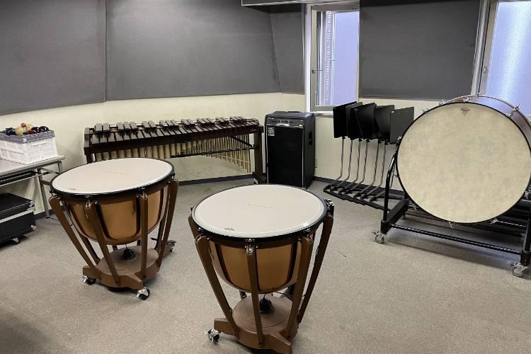 打楽器実習教室