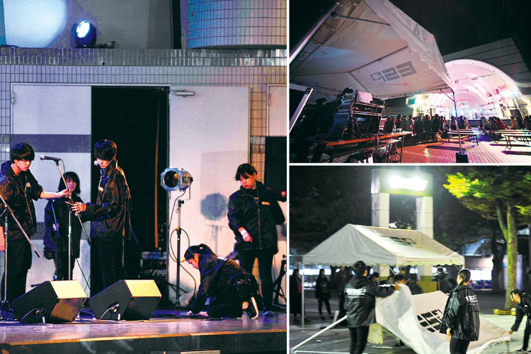 LIVE HALL 『ATTRACSHOW』in東京・代々木公園野外ステージ 収容人数1000名