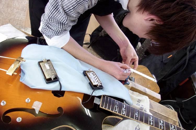 アコースティックギター製作